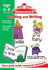 Reading and Writing (Help With Homework Test Pads) Paperback Book The Fast Free