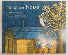 TOO MUCH NOISE 1968 SCHOLASTIC Book Service Paperback Book TJ 1028