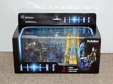 2016 Funko Super7 ReAction Aliens 3-Pack: Ripley, Power Loader & Queen Brand New