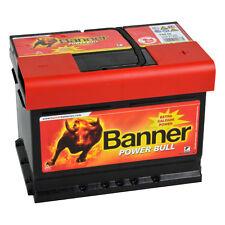 Banner POWER BULL 12V 60Ah P6009 Batterie Autobatterie ersetzt P5519 P6205 55 62