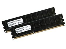 2x 4gb 8gb ECC unbuffered memoria RAM ddr3 1333 MHz UDIMM pc3-10600e