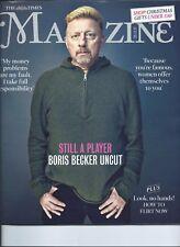 BORIS BECKER  The Times Magazine UK - NOVEMBER 2017