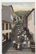 Madeira, Caminho do Monte, Descida de Carros Postcard #2, B145