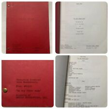 "Star Trek scifi television script ""By Any Other Name� 1967 Gene Roddenberry Rare"
