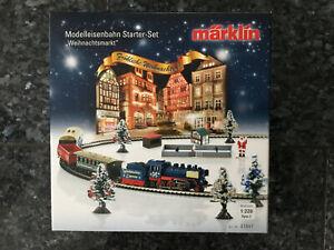 Märklin Spur Z 81841Starterset Weihnachtszug selten !!! Neu + OVP Ungeöffnet !!!