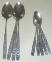Imperial International Davos Stainless Steel Flatware 9 Piece Lot