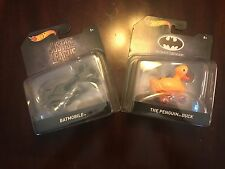 Hotwheels Batman Justice League Batmobile and The Penguin Duck 2017