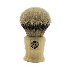 Super Density Silvertip Badger Hair Shaving Brush By Frank Shaving 30MM Knot