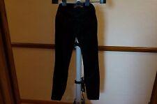 Brand New Women ROBIN'S JEAN sz 27 Straight Leg 148001 Style8657 BLK WINGS BLACK
