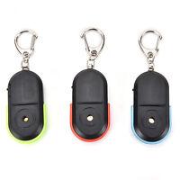 Cool Anti-Lost Alarm Key Finder Locator Keychain Whistle Sound LED Light SYJY