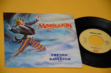 "MARILLION 7"" REAKS 1°ST ORIG ITALY 1988 EX TOP COLLECTORS"