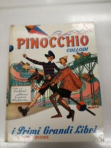 Carlo Collodi, Pinocchio, Salani Editore, illustrazioni Riccobaldi (anno 1956)