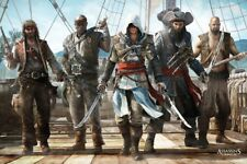 "ASSASSIN'S CREED POSTER ""BLACK FLAG"" LICENSED ""BRAND NEW"" ON DECK"