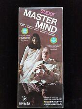1975 Vintage Super Master Mind Game by Invicta Break the Hidden Code Logic Game