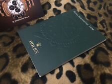 ROLEX BOOKLET LIBRETTO SUBMARINER 116610LN  116619LB SMURF ITALIANO ITA 7.2010
