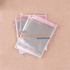 400pcs 60mm x 80mm Clear Resealable Cello Plastic Envelope/Bag New