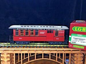 LGB 3181 Denver, South Park & Pacific Passenger Car * Original Box * G Scale *