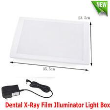 Us Dental X Ray Film Illuminator Light Box Negative Viewer Light Panelsealed Led