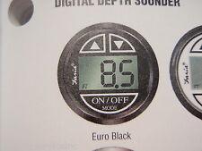 DEPTH SOUNDER FINDER DIGITAL 678-12850 TRANSDUCER TRANSOM EURO BLACK BOATINGMALL
