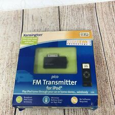 Kensington  Pico FM Transmitter for iPod 5G and Nano (Black)