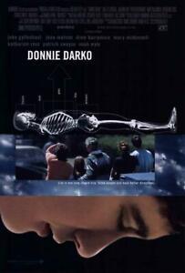 Donnie Darko Movie POSTER 27 x 40, Jake Gyllenhaal, Jena Malone, B