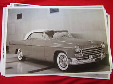 1956 CHRYSLER  CONVERTIBLE  11 X 17  PHOTO /  PICTURE