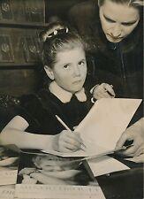Minou Drouet 1956 - Jeune Poétesse Dédicace - PR 446