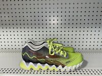 Reebok ZigTech Boys Youth Athletic Running Shoes Size 6 Neon Green Orange Black