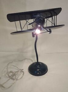 Pottery Barn Kids Airplane Tabel and Task Lamp Bule (Light Bulb is included)