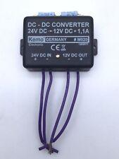 Kemo M020 #M020 DC/DC Reducer Converter 24V DC - 12V DC 1.1A 12020TI Module