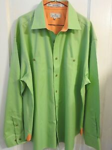 Enro Men's Classic Fit Big-Tall Point Collar Dress Shirt Sz Large - NWT
