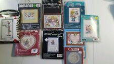 YOUR CHOICE 1 Counted Cross Stitch Kit Child Kid Sis Grandma Love Bunny Friends