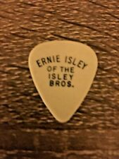 Ernie Isley Guitar Pick From Boston Show 1990-91