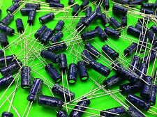 100 pcs 1500uf 16V 105' RADIAL ALUMINUM ELECTROLYTIC CAPACITOR 10x20