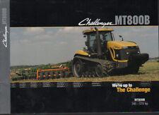 "Challenger ""MT800B Series"" 340-570hp Track Tractor Brochure Leaflet"