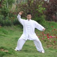 Tai Chi Cotton Uniform Martial Arts Kung Fu Wushu Clothing Taiji Wing Chun Suit