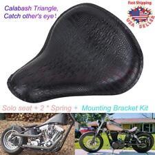 Custom Large Aligator Solo Seat Spring Bracket Base Kit For Harley Sportster 883