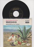 """7 """" Single  von Bob Moore  und sein Orchester - Mexico   - Hot Spot"""