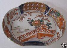 Japanese Imari 1850-1899 Porcelain Dish/plates in muti-color
