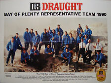 Bay Of Plenty New Zealand Rugby Team Poster 1990