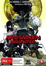 Afro Samurai - Resurrection (DVD, 2009, 2-Disc Set) NEW+SEALED region 4