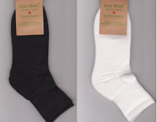 8 Pairs Organic Bamboo Men's / Women's Athletic Quarter Socks