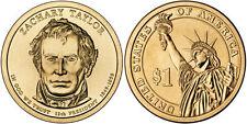 2009  P & D  ZACHARY TAYLOR  PRESIDENTIAL DOLLAR COINS