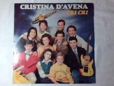CRISTINA D'AVENA Cri Cri lp COME NUOVO LIKE NEW!!!