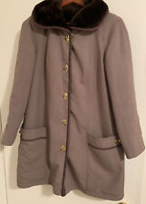 New listing Forecaster of Boston Vintage Women's Coat Fur (Pile) Collar/Lining Size 9/10 Exc