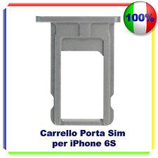 SIM Card Tray Slot Porta Scheda Vassoio SLOT holder per iPhone 6S NERO