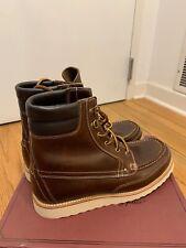 NEW J.Crew Wallace & Barnes Byrd Boots 9.5 Brown B3633