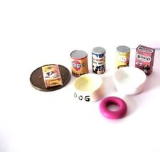 PET DOG ACCESSORIES  1 12/TH SCALE  DOLLS HOUSE MINIATURE