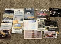 Vintage Lot of 20 CHEVROLET CHEVY 60s 70s Car Truck Sales Brochures