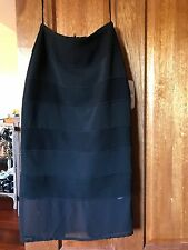 CAMILLA AND MARC BLACK KNITTED PENCIL SKIRT SIZE 6